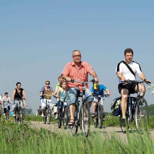 Op de fiets naar Den Bosch