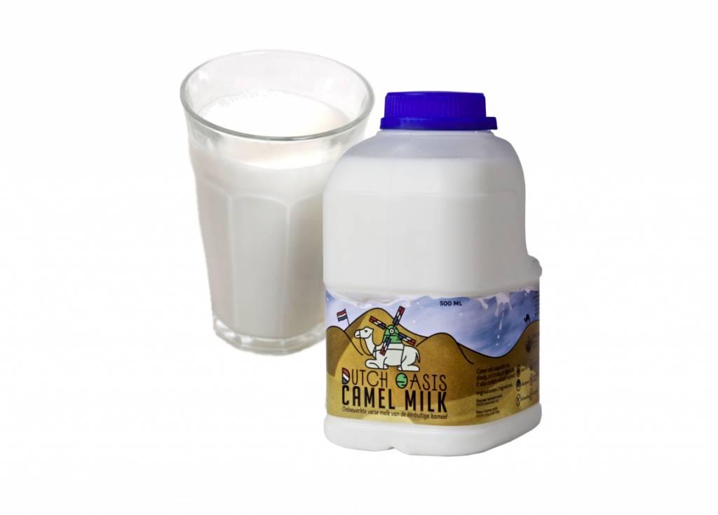 Kamelenmelk fles